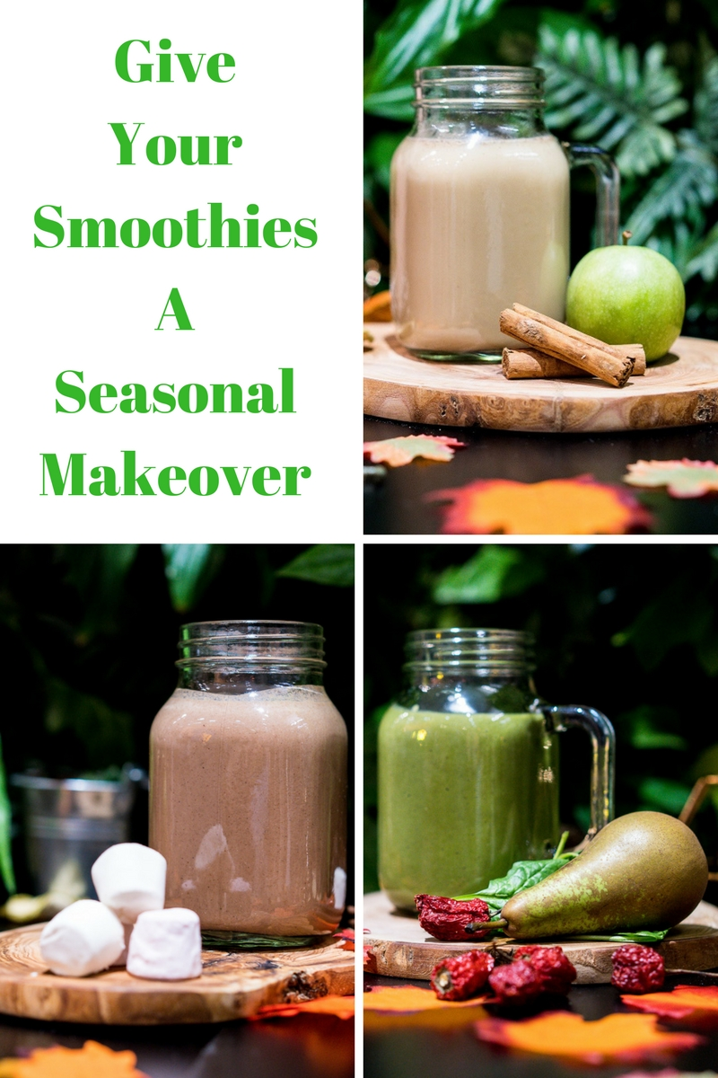Give Your Smoothies A Seasonal Makeover
