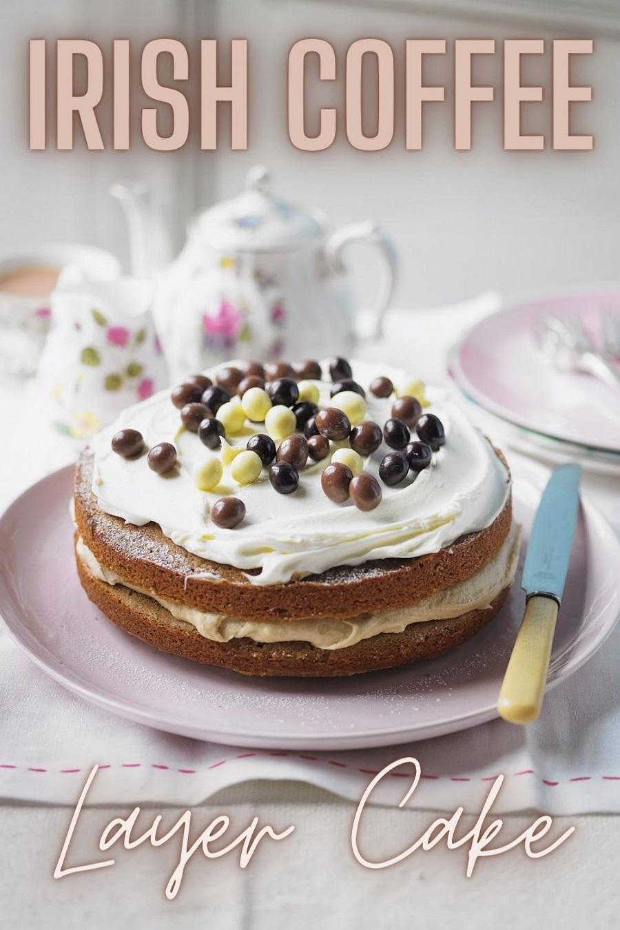 Irish Coffee Layer Cake