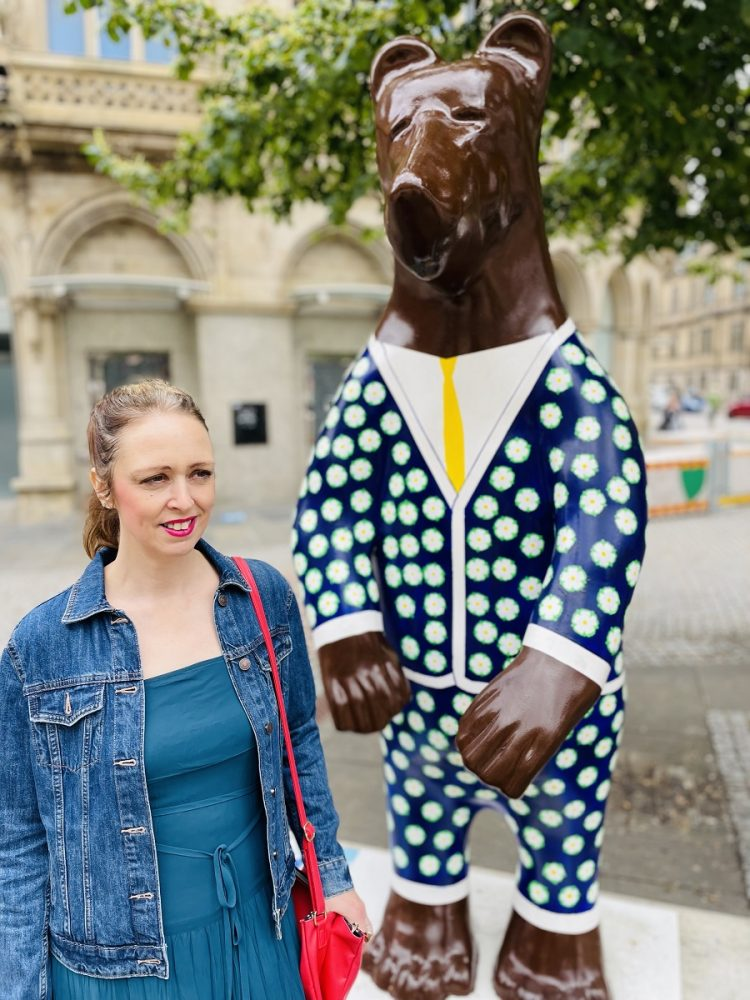 Polka Dot Suit On The Bears Of Sheffield: What I Wore