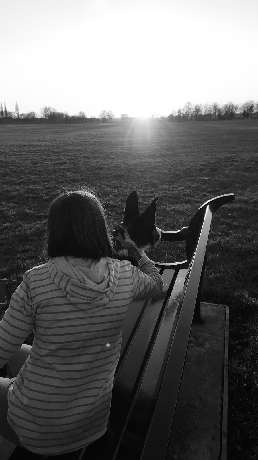 My Two Girls: Black And White Photo Project