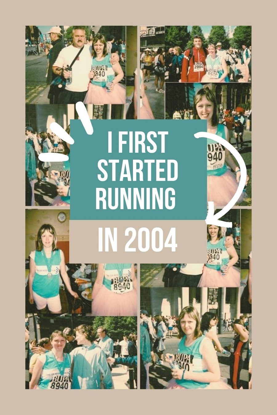 I First Started Running In 2004