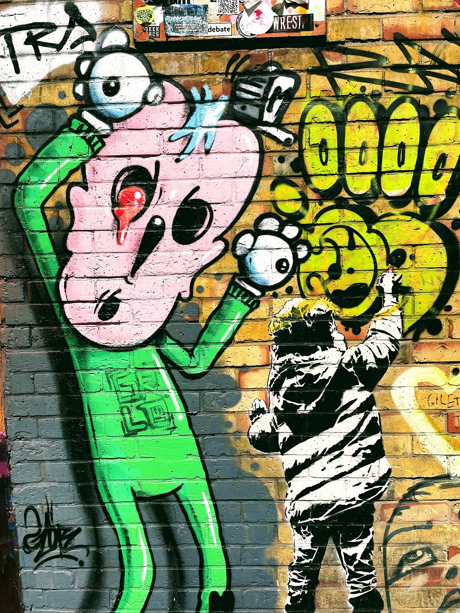 Cool Places to Find Street Art in Camden