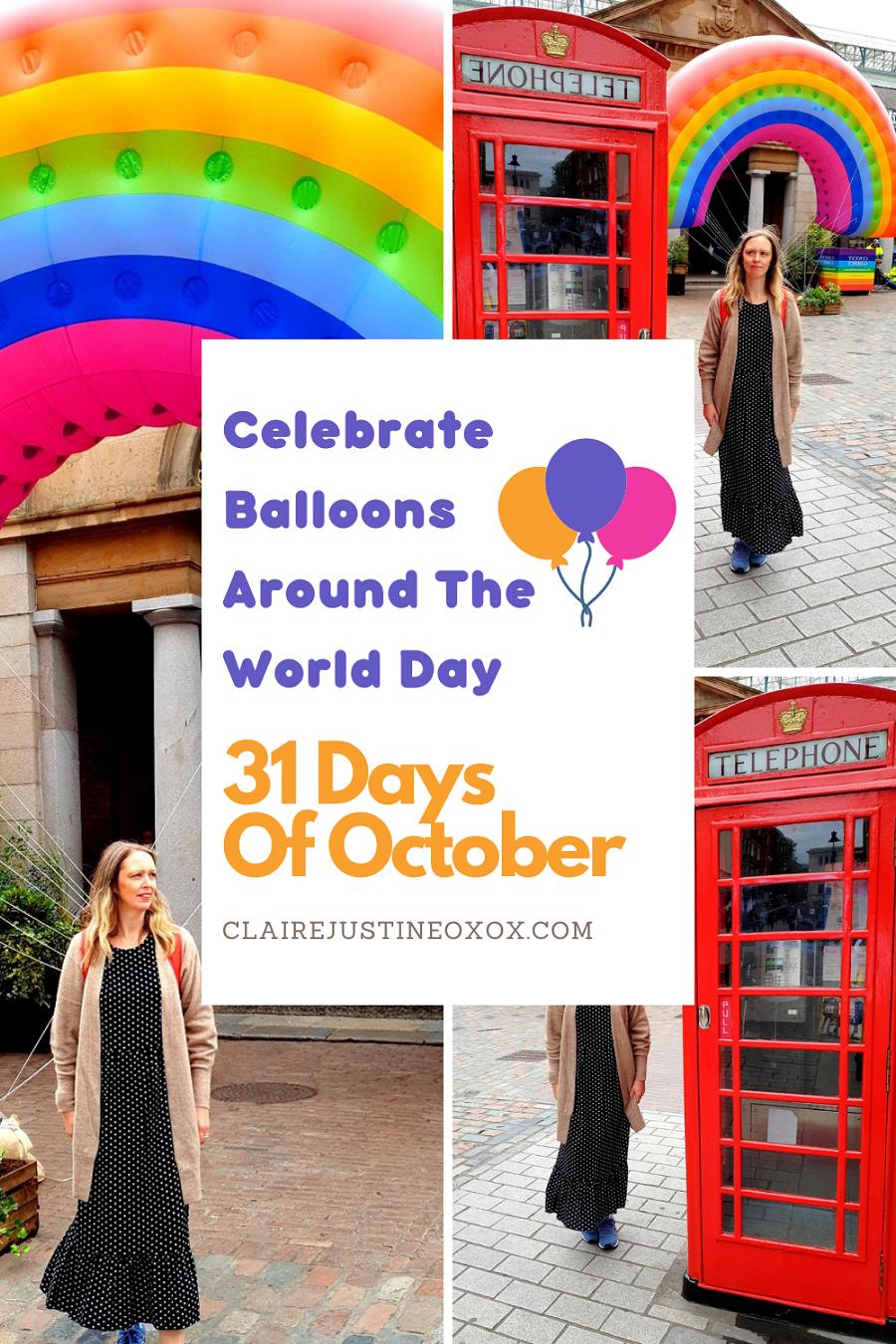 Happy Balloons Around The World Day