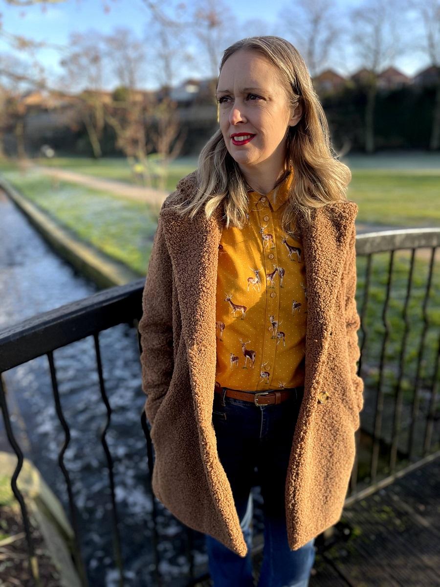 Light Brown Teddy Coat: Back In Fashion Again